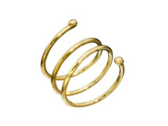 Christina Malle Fairmined Gold Coil Ring